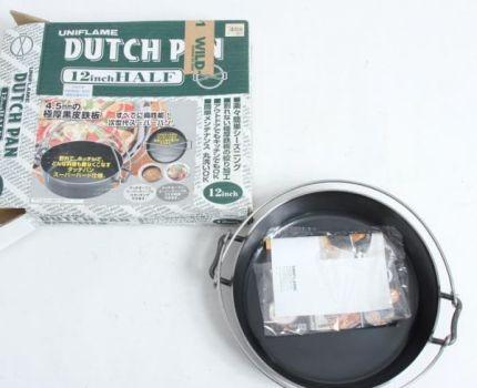 ユニフレーム ダッチパン 12インチ ハーフ mc01036889