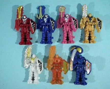 騎士竜戦隊リュウソウジャー DXピンクリュウソウル等 DXリュウソウル7個セット