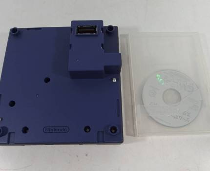 ◆ニンテンドー ゲームキューブ ゲームボーイプレーヤー バイオレット DOL-017