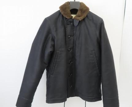 ☆The REAL McCOY'S/リアルマッコイズ N-1 DECK JACKET デッキジャケット NXss11235 ブラック/38 /080