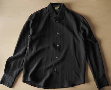 yohji yamamoto pour hommeシャツ Mサイズ ダークグレー ヨウジ ワイズ Y's