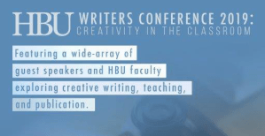 HBU writers conference