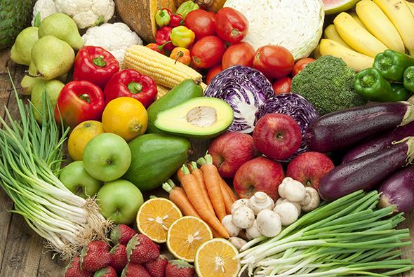 fruits and vegetables auaom
