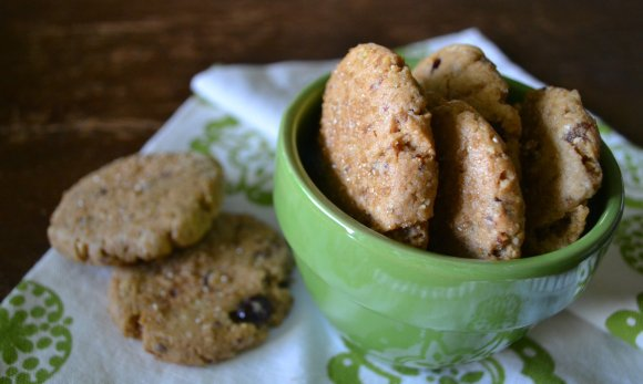 Cookies in Green Cup