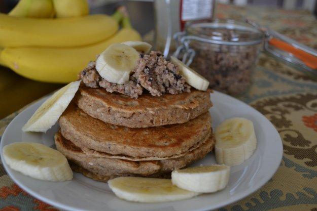 Banana Bread Pancakes 1