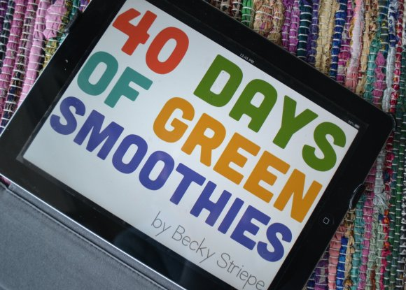 40 Days of Green Smoothies iPad