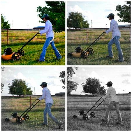 Romancing the Mower An Unrefined Vegan