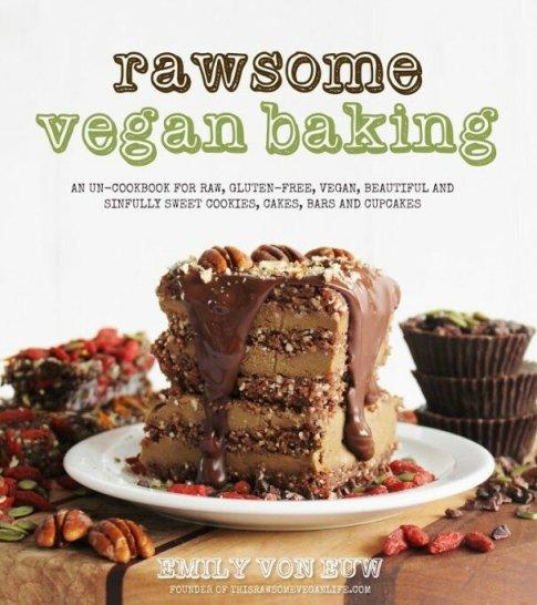 Rawsome Vegan Baking Cover