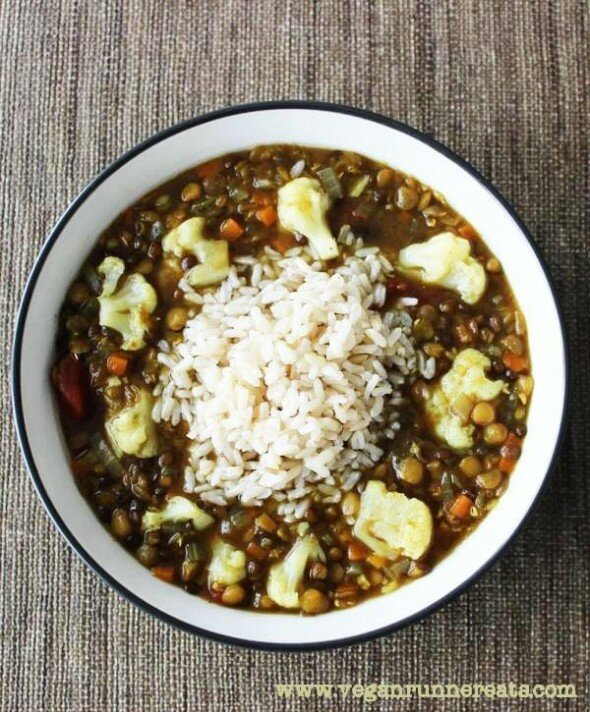 Triple Lentil Vegan Runner Eats
