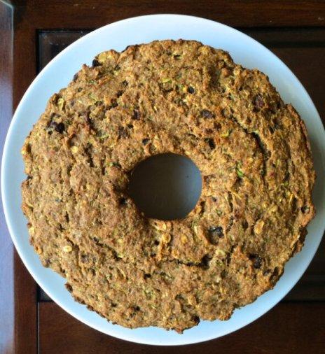 Date- Sweetened Zucchini Bread