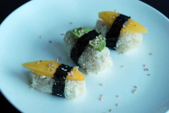 Raw Nigiri Sushi