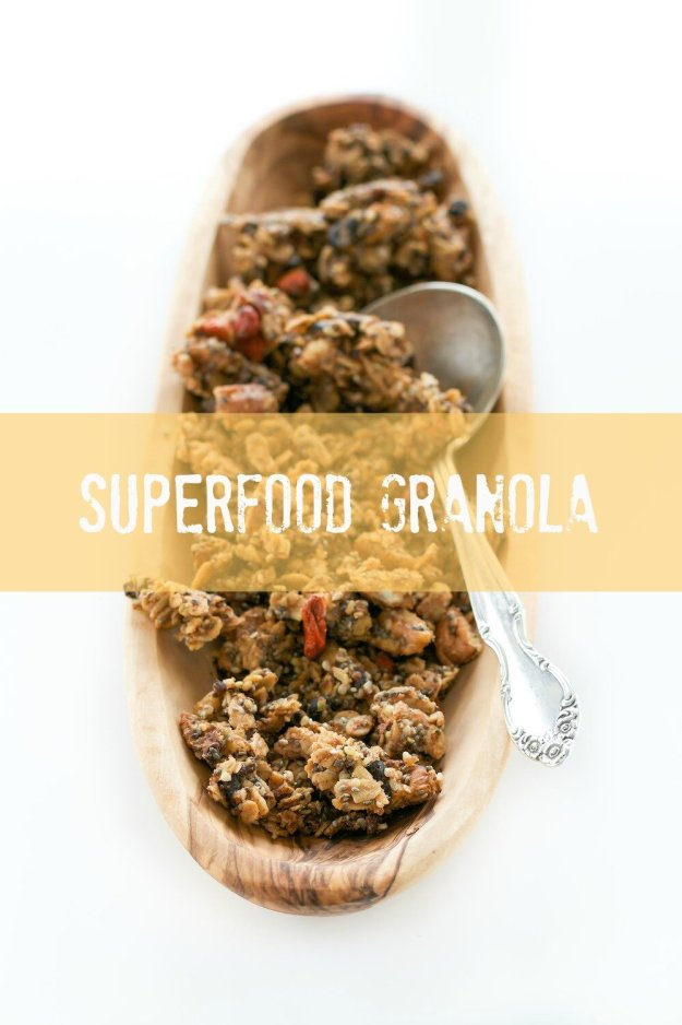 Superfood Granola An Unrefined Vegan