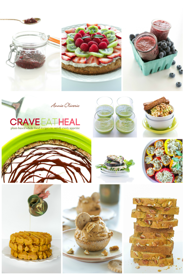 Crave Eat Heal Collage