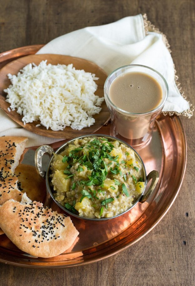 Vegan Richa's Butternut Squash Red Lentil Curry Photo by An Unrefined Vegan