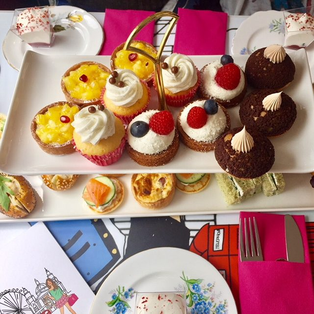 Afternoon Tea And A Tour Of London With B Bakery An