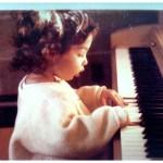 girl playing piano, creative
