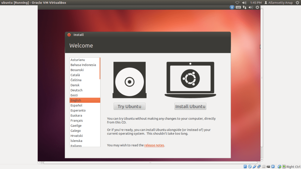 Installing Linux alongside with Windows (Dual boot) (1/5)