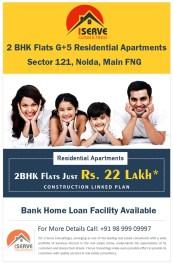 22 Lakh -2 BHK flat - Sector 121 Noida