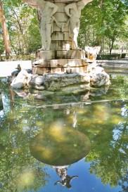 Aranjuez fuente narciso reflejo