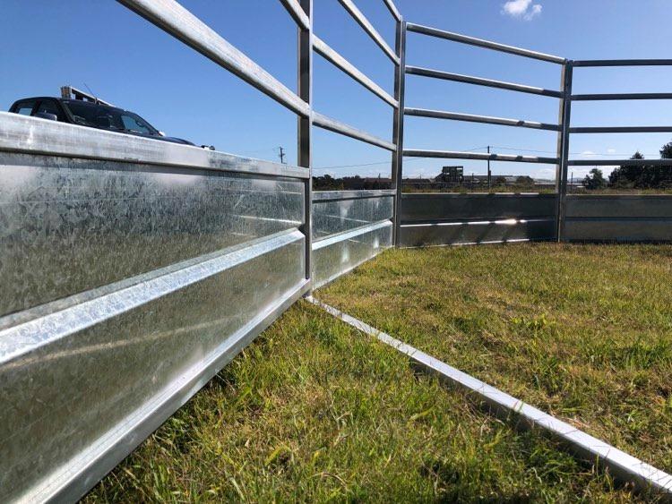 Horse Safe Skirted Rail - Gal Steel (5)