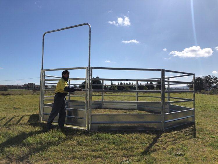 Horse Safe Skirted Rail - Gal Steel (8)