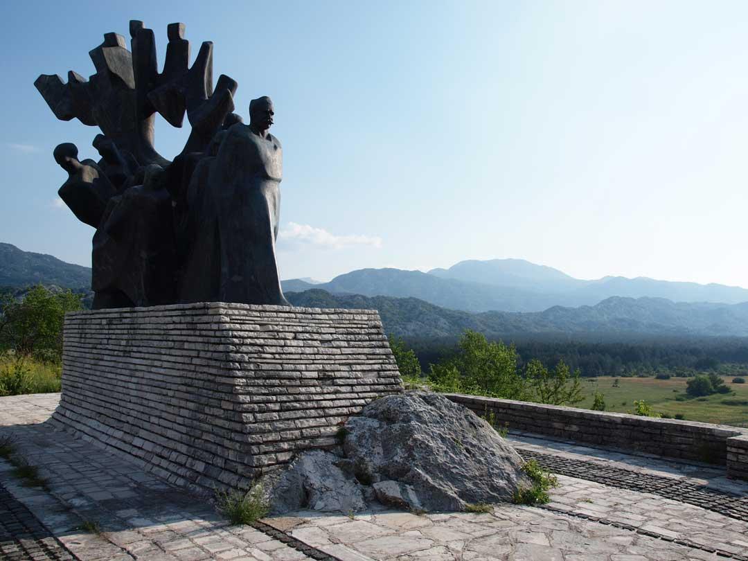 Sava_Kovacevic_Memorial_Grahovo_Bijela_gora_and_Pusti_lisac