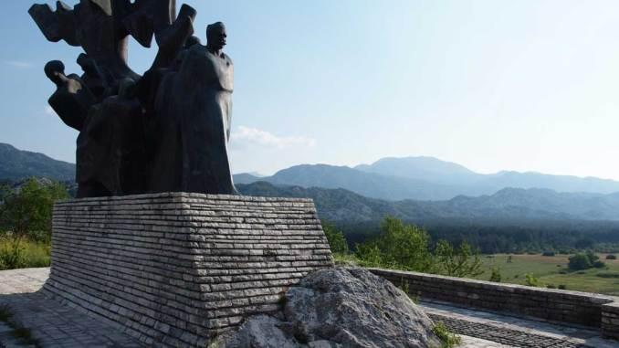 Graohovo - Monumento ai caduti partigiani