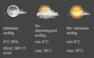 Wetter in FHEM - Weather Modul