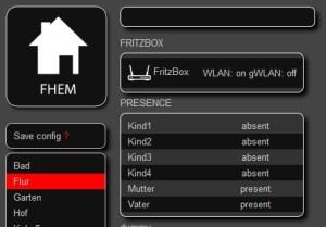Anwesenheitserkennung mit FHEM - Presence