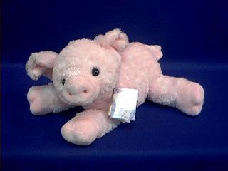 Pig Stuffed Animal Plush Pink Floppy Piggolo At Animal