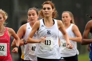 Cali Werner running a marathon