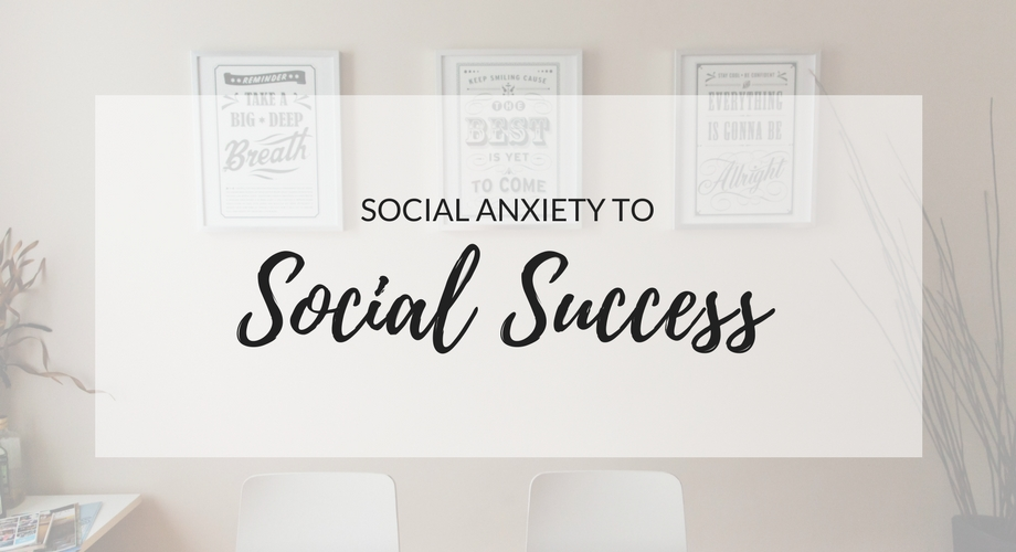 Social Anxiety To Social Success: The Social Anxiety Ebook