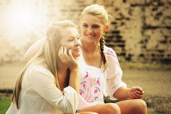 二人の女子