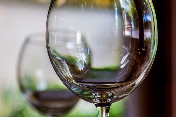 丸いグラス