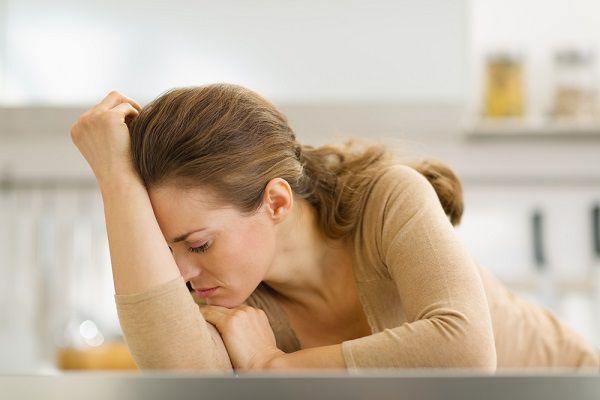 ストレスの多い30代女性