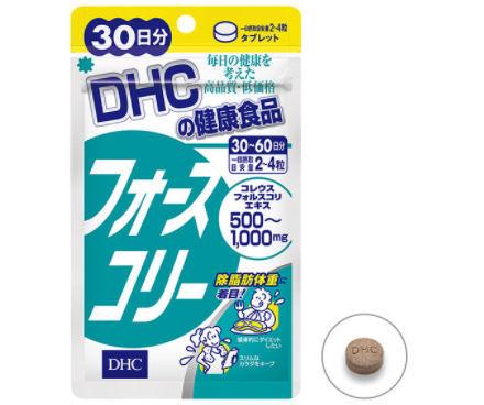お腹の脂肪燃焼サプリ・DHCフォースコリー