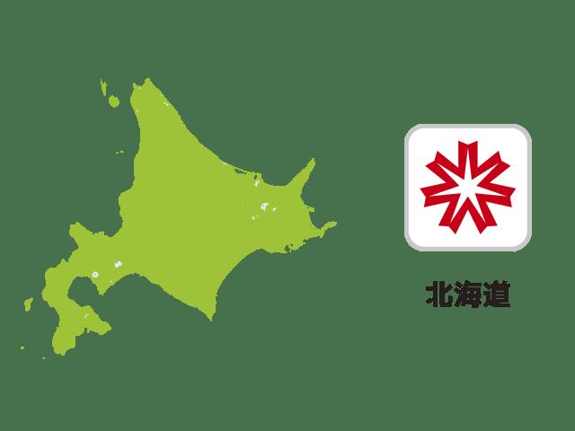 北海道地図イラスト