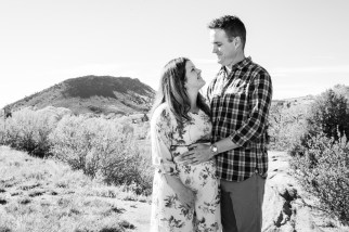 Red Rocks Maternity Photos
