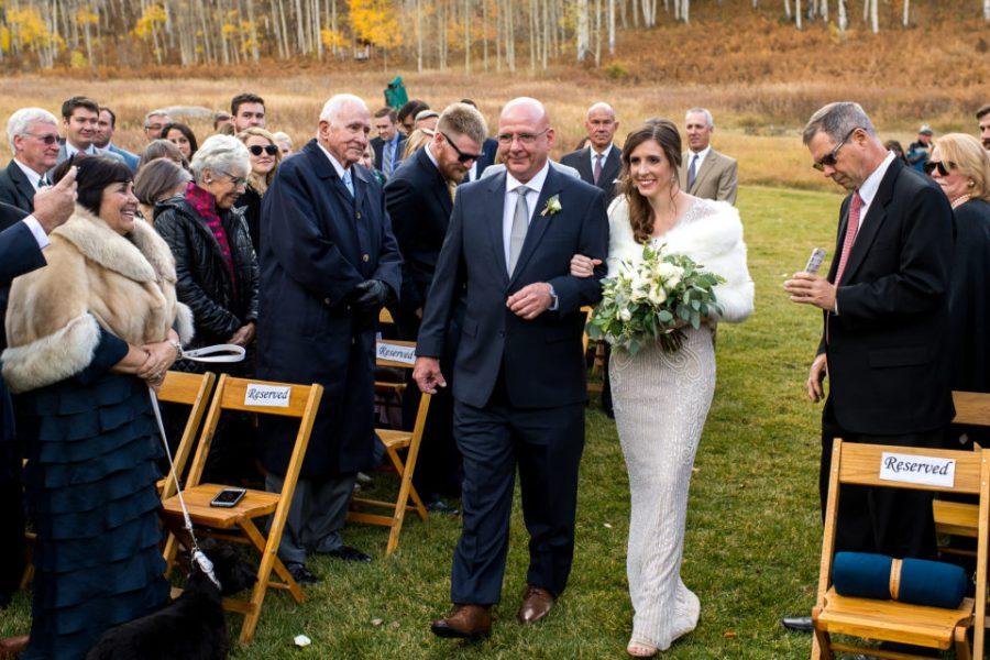 Beano's Cabin wedding at Beaver Creek