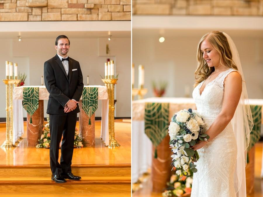 St. Mark Catholic Wedding Photos in Highlands Ranch