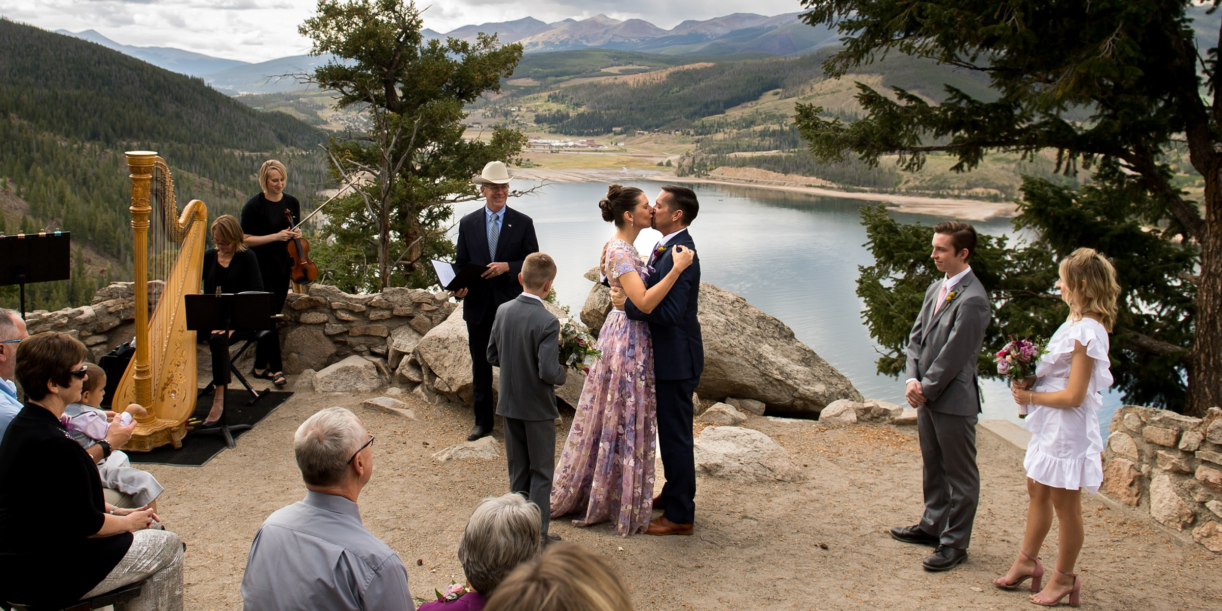 Sapphire Point wedding Colorado photos