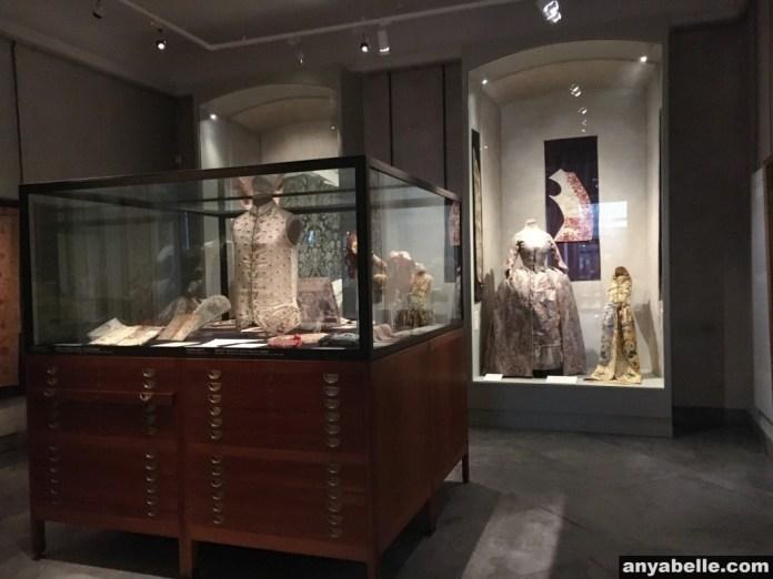 Dresses exhibited at Design Museum Danmark.