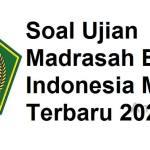 Soal Madrasah Bahasa Indonesia MA