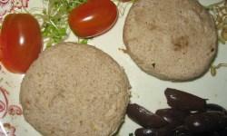 Queso vegano crudo de nueces y semillas de girasol
