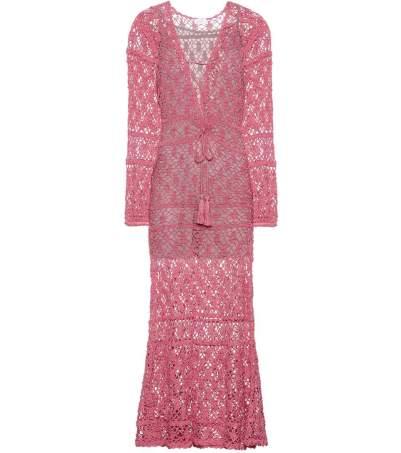 Anna Kosturova crochet dresss
