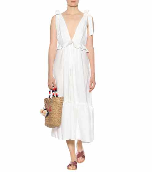 three graces linen dress