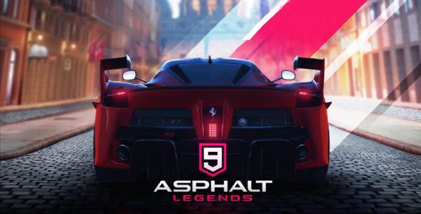 Asphalt 9 Legends apk mod cracked