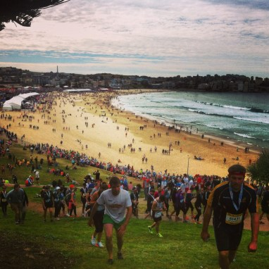 City to Surf race