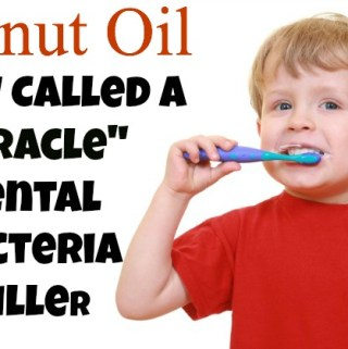coconut oil to prevent and heal cavities