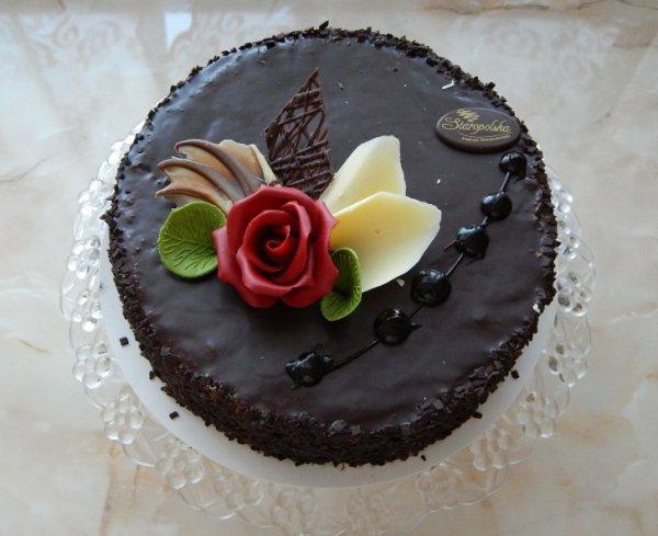 Как украсить торт шоколадом в домашних условиях. Совет